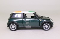 Corgi Classics CC86525; 2001 BMW Mini-Cooper; Irish Tricolour Roof