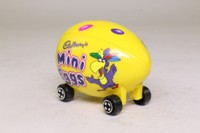 Corgi Classics 57502; Cadbury's Crème Egg Car; Mini Eggs, Yellow