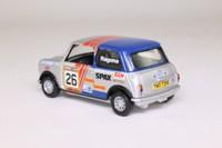 Corgi Classics 04439; BL/Rover Mini; Rover-Unipart Mini 7 Challenge; Tony Ragona, RN26