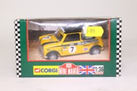 Corgi Classics 04430; BL/Rover Mini; Mighty Minis: Peter Crewes, RN7