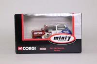 Corgi Classics CC82256; BL/Rover Mini; Mini 7 Racing Club: Max Hunter; RN46