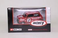 Corgi Classics CC82212; BL/Rover Mini; Mini Se7en Racing Club: Dave Braggins; RN1