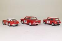 Corgi Classics 97709; Alpine Rally 3 Car Set; Mk1 Cortina, BMC Works Mini & Healey 3000