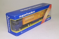 Corgi Classics TY86616; Scania R Cab, 1:64 Scale; Artic Box Trailer; Sainsbury's