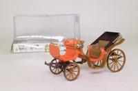 Brumm #03; Horse-Drawn Milan Brougham; 19th Century; Brown