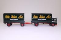 Corgi Classics 97369; AEC Ergomatic Cab; 4 Wheel Box Van & Trailer; Eddie Stobart