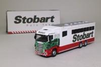 Atlas Editions 4 649 108; Scania R Cab Truck; Horse Box, Eddie Stobart Polo Team