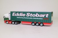 Atlas Editions 4 649 102; Scania Topline Artic; Curtainside Trailer, Eddie Stobart