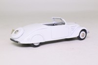 Elysee ELY532; 1936 Peugeot 402 Eclipse; Open Cabriolet; White