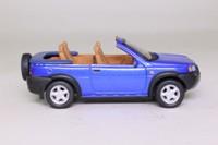 Schuco Code 3; Land-Rover Freelander; Crayford Cabriolet; Blue