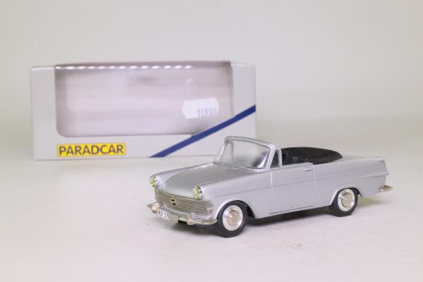 Paradcar 066; 1961 Opel Rekord Cabrio Autenrieth; Open, Silver