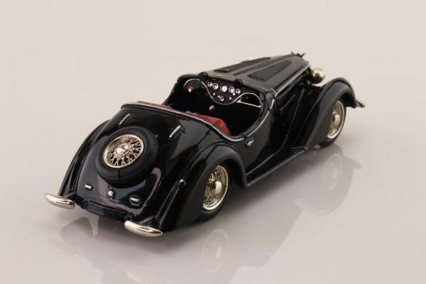 Tin Wizard M431038; 1936 Wanderer W25 Sport Roadster; Black