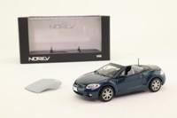 Norev 800167; 2007 Mitsubishi Eclipse Spider; Metallic Blue