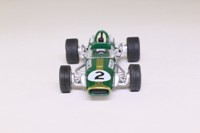 Atlas Editions 3128 010; Brabham BT24 Formula 1; 1967 German GP 2nd; Denny Hulme; RN2