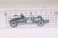 Atlas Editions 3128 010; Brabham BT24 Formula 1; 1967 German GP 2nd; Denny Hulme; RN2