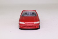 Prestige; 1995 Peugeot 306 Cabriolet; Open; Metallic Red