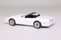 Western Models; 1984 Chevrolet Corvette Convertible; Open; White