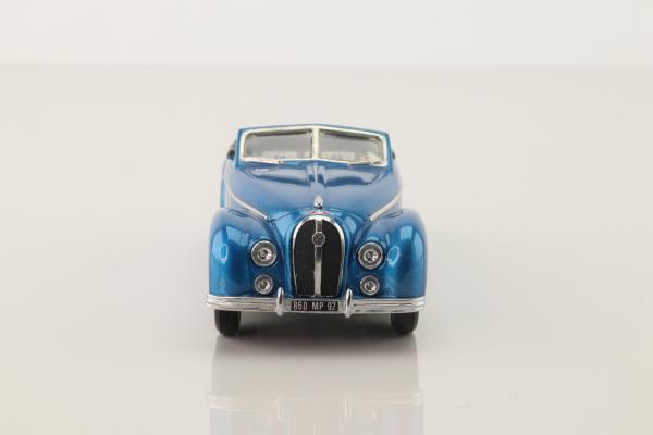 Idem; 1952 Hotchkiss 20/50 Antheor Cabriolet; Open; Blue