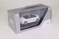 Kyosho 5011400513; 2014 Audi TT Roadster; Glacier White