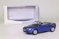 Norev 02574; 2001 Audi A4 Cabriolet (8H); Carribean Blue