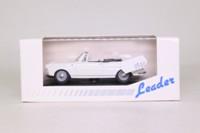 Leader 140033; 1961 Peugeot 404 Cabriolet; Open; White