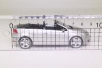 Schuco 188312; 2011 Volkswagen Golf Cabriolet; Open; Silver