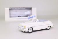 Leader 140101; 1952 Ford Vedette Cabriolet; Open; White