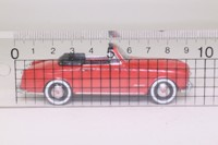 Miniacars 43 99.054; 1955 Simca 9 Cabriolet; Open; Red