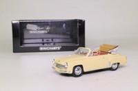 Minichamps 430 015930; 1959 Wartburg 311/2 Cabriolet; Beige