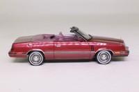 NEO; 1984 Dodge 600 Convertible; Dark Red