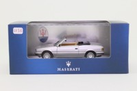 IXO CLC059; 1985 Maserati Biturbo Spider; Open; Silver