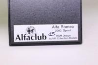 MR Collection; 1971 Alfa Romeo 2000 Sprint Cabrio; Silver