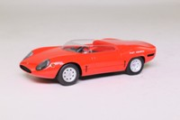 Spark S1319; 1965 Fiat Abarth 1600 Sport Spider; Open Top; Red