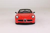 Spark S0397; 2005 Alfa Romeo 6C Spyder; Open Top, Red