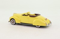 Durham Classics DC9-A; 1938 Lincoln Zephyr; Open Cabriolet; Yellow