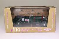 Brumm R114; Bentley 4.5 Litre Blower; 1930 24h Le Mans, Benjafield & Ramponi; RN8