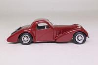 Solido 4088; 1939 Bugatti 57S Atalante; Closed Coupe, Maroon