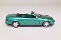 Schuco B 6 600 5749; Mercedes-Benz CLK Cabrio; Metallic Green