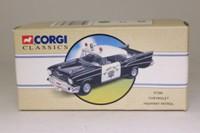 Corgi Classics 97396; 1957 Chevrolet Bel-Air; Police, Highway Patrol