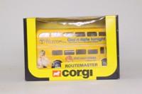 Corgi Classics 476; AEC Routemaster Bus; British Telecom, Buzby, Dial Your Chicks After Six