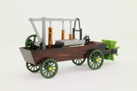 Brumm X8; 1804 Evans Amphibious Steam Dredger; Philadelphia Health Service