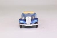 Eligor 1001; 1938 Citroen Traction Avant Cabriolet; Open Top, Met Blue