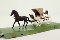 Brumm #015; Horse-Drawn Open Spyder; Georges Sand; 1840