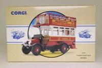 Corgi Classics 96989; Thornycroft J Type Bus; General; Rt16 Cricklewood; Grosvenor Place, Park Lane, Marble Arch, Edgware Rd, Maida Vale, Kilburn Rd