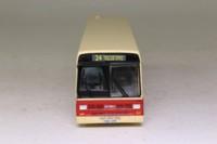 Corgi OOC 43115; Leyland Lynx Mk1 Bus; PMT Potteries; Rte 24 Talke Pits, Hanley Terminal