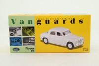 Vanguards VA01913; Rover P4; Ivory