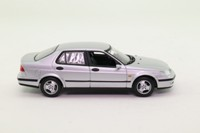 Minichamps 78-745604; 1997 Saab 9-5 Sedan; Silver Metallic