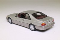 Minichamps 32602; 1992 Mercedes-Benz 600 SEC; Metallic Silver