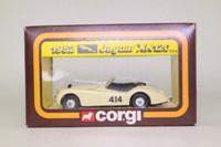 Corgi Classics 804; Jaguar XK120 Roadster (1:36); Rallye des Alpes, RN414