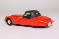 Corgi Classics 803; Jaguar XK120 Roadster (1:36); Soft Top, Red, Black Hood